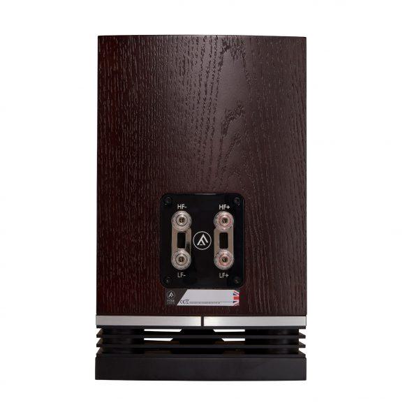 F500 Rear Dark Oak Bookshelf