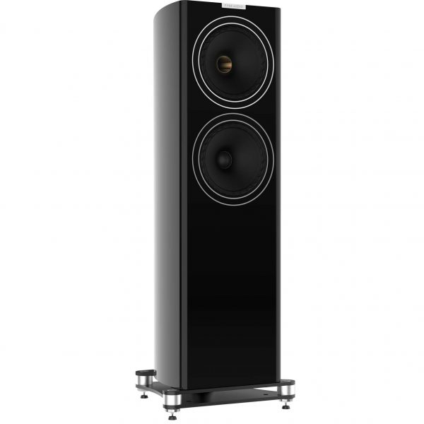 F703 3Q Black Large Floorstander