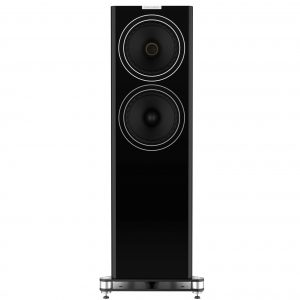F703 Front Black Large Floorstander